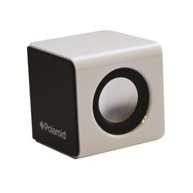 Polaroid Graffiti Black & White Wired Sound Cube