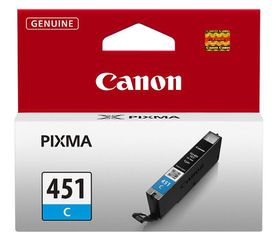 Canon CLI-451C Cyan Single Ink Cartridge