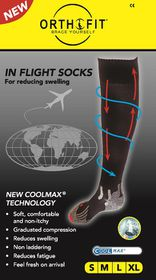 Orthofit Inflight Socks - White - Extra Large