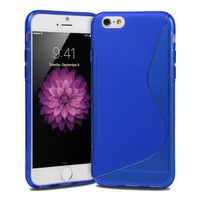 "Blue S Line TPU Case for iPhone 6 (4.7"")"