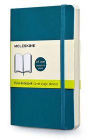 Moleskine Soft Blue Large Plain Notebook
