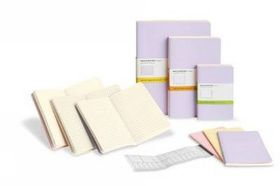 Moleskine Set of 3 Ruled Cahier Journals - Pastel - Large