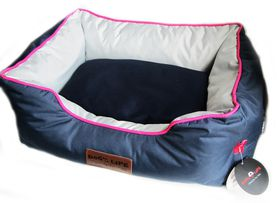Dog's Life - Premium Country Waterproof Bed Navy - Extra Large