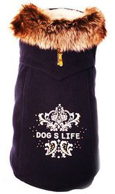 Dog's Life - Winter Duff Coat - Navy - Extra-Small
