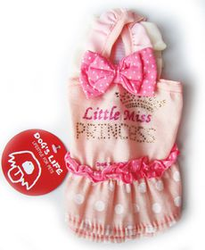 Dog's Life - Little Princess Dress Pink - Extra Large
