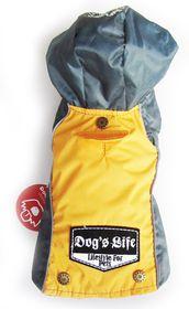 Dog's Life - Summer Rain Jacket - Yellow - Extra Small