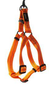Dog's Life - Reflective Supersoft Webbing Harness - Orange - Small