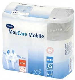 Molicare Mobile Pull Up Pants - Extra Small 14's