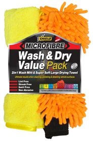 Shield - MicroFibre Wash 'n Dry Value Pack