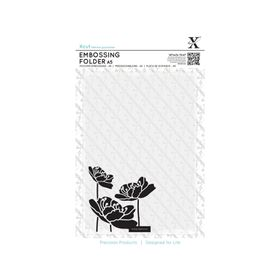 Xcut A5 Embossing Folder - Large Blossom