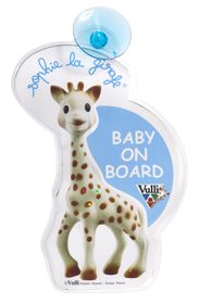 Sophie La Giraffe - Flashing Baby On Board Sign
