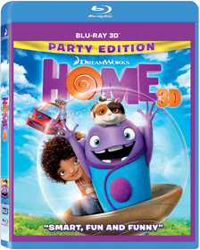 Home (3D Blu-ray)
