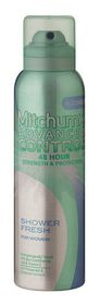 Mitchum Advanced Control For Women Aerosol - Shower Fresh - 120ml