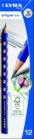 Lyra Groove Slim 12 HB Graphite Pencils