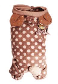 Dog's Life - Polka Bear Pajamas Grey - 2XS