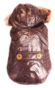 Dog's Life - Royale Parka Jacket With Hood Black - Medium