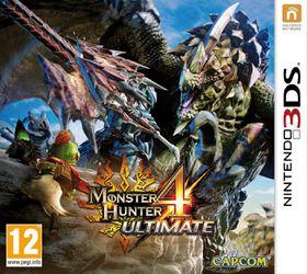 Monster Hunter 4 Ultimate /3DS