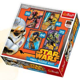 Trefl Star Wars Rebels 4 In 1 Puzzle Piece