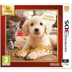 Nintendogs + Cats - Golden Retriever & new Friends Select (3DS)