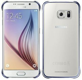 Samsung Galaxy S6 Clear Protective - Black