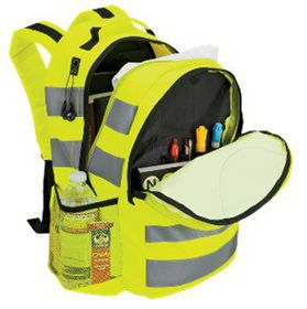 Eco Neon Safety Backpack - Neon Yellow