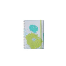 Meeco Floral A6 80 Ruled Sheets Spiral Bound Notebook