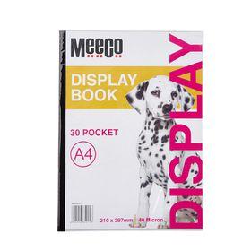 Meeco A4 Display Book - 30 Pockets
