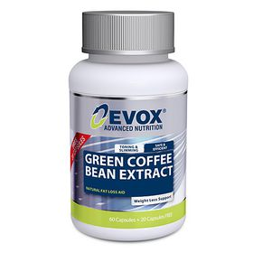Evox Green Coffee Bean Extract 60's + 20's Free