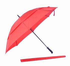 St Umbrellas Golf Umbrella Red