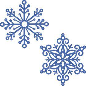 Kaisercraft Cutting Dies - Snowflake