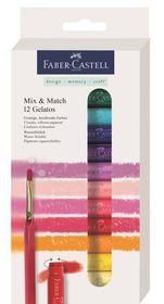 Faber-Castell Gelatos - 12 Mix & Match Assorted Colours