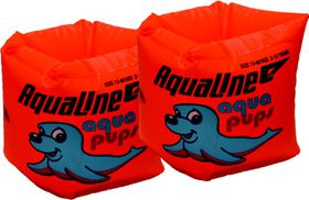 Aqualine - Roll Up Armbands Orange (Size: 2-12 years)