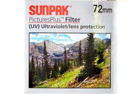 Sunpak 72mm UV Filter