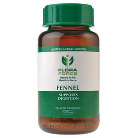 Flora Force Fennel - 60 Capsules