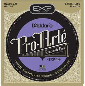 D'Addario EXP44 Coated Extra-Hard Tension Classical Guitar Strings