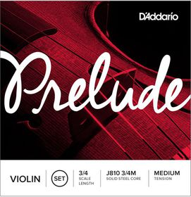 D'Addario Prelude Medium Tension 3/4 Scale Violin String