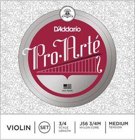 D'Addario Pro-Arte Medium Tension 3/4 Scale Violin String