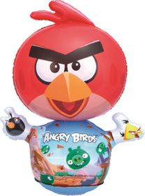 Bestway - Angry Birds Mini Punch Bag - Red