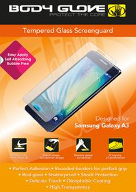 Body Glove Tempered Glass Screenguard - Samsung A3