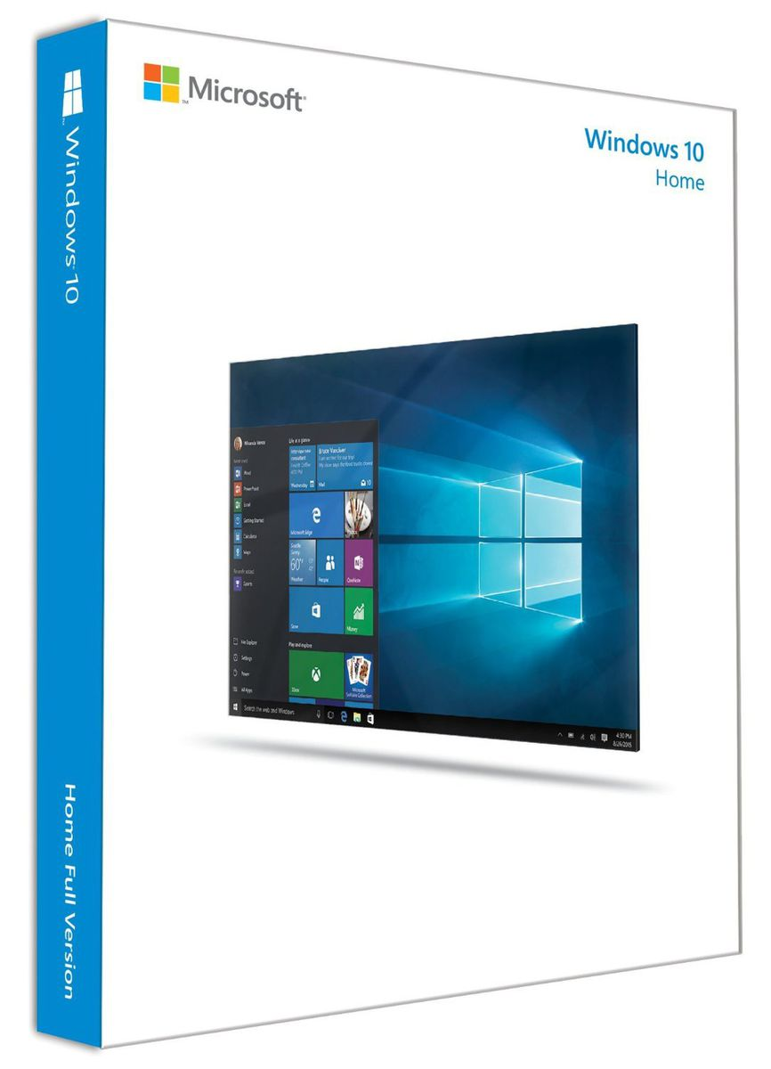 Microsoft Windows 10 Home Full Product Package Buy