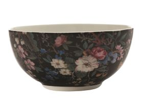 Maxwell and Williams - William Kilburn 16 cm Breakfast Bowl - Midnight Blossom
