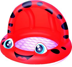 Bestway - Shaded Play Pool - Red