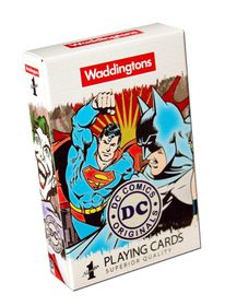 Waddington's DC Superheroes Retro Playing  Cards
