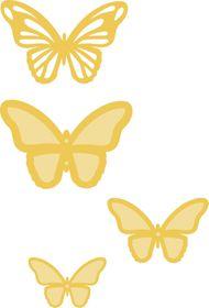 Kaisercraft Cutting Dies - Layered Butterflies