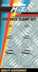 Moto-Quip - Hose Clamp Set - 6 Piece