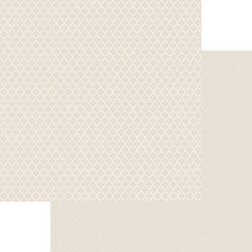 Lady Pattern Paper Basic Essentials Moroccon Trellis - So Buff (10 Sheets)