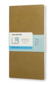 Moleskine Chapters Journal Slim Medium Dotted Tawny Olive