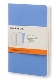 Moleskine Volant Journal Ruled Extra Small Royal Blue