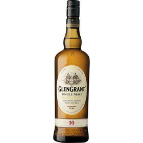 Glen Grant 10 Year Old Single Malt Whisky -  Case - 6 x 750ml