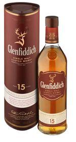 Glenfiddich - 15 Year Old Solera Reserve Single Malt Whisky - 750ml